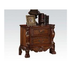 Dresden Cherry Oak PU Nightstand
