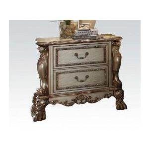 Dresden Gold Patina Nightstand