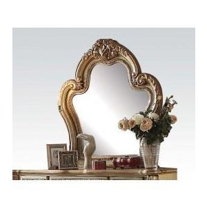 Dresden Gold Patina Mirror