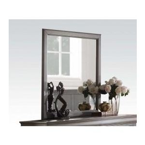 Louis Philippe Antique Gray Mirror