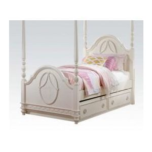 Dorothy Ivory Twin Bed