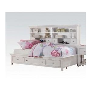 Lacey White Twin Bed