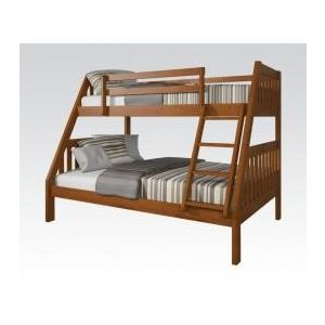 KIT RYO OAK TWIN/FULL BUNKBED