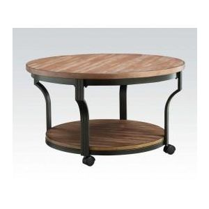 PATRICIA DARK BROWN COFFEE TABLE