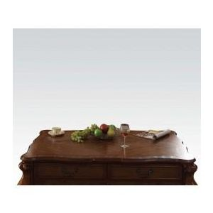 DRESDEN GOLDEN BROWN VELVET COFFEE TABLE