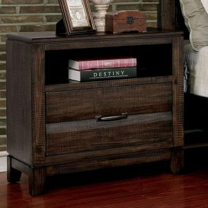 Agapetos Walnut Nighstand