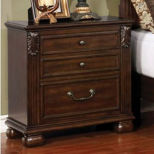 Cervantes Brown Cherry Nighstand