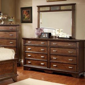 Alcazar Brown Cherry Dresser