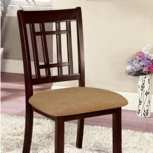Central Park I Dark Cherry Oak Table Chair(2PK)