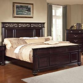 Syracuse Dark Walnut EA King