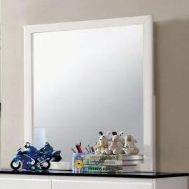 Kimmel White Blue Mirror