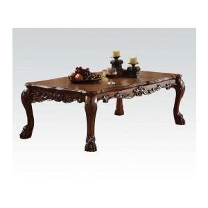 DRESDEN BROWN PU COFFEE TABLE