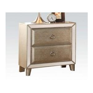 Voeville Antique Gold Nightstand