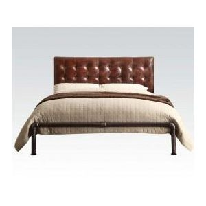 Brancaster Vintage Brown Queen Bed