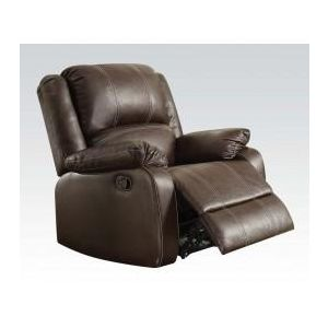 ZURIEL BROWN PU RECLINER