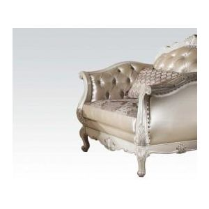 CHANTELLE PEARL WHITE CHAIR
