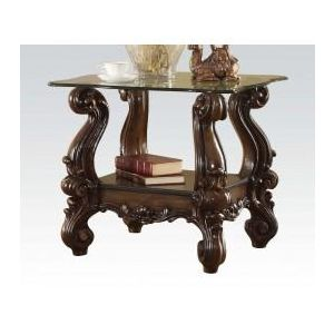 VERSAILLES LIGHT BROWN END TABLE