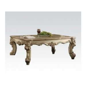 VENDOME II GOLD PATINA COFFEE TABLE