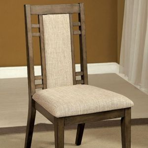 Eris Gray Table Chair(2PK)