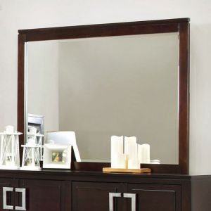 Balfour Brown Cherry Mirror