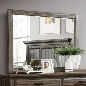 Amarillo Light Walnut Mirror