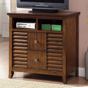 Eola Walnut Media Chest