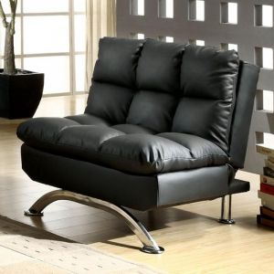 Aristo Black Chrome Chair